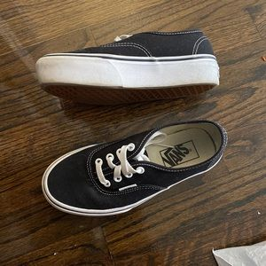 Platform vans , authentic platform vans